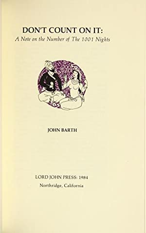 Don't count on it: a note on the number of The 1001 nights: Barth, John