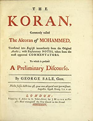 THE KORAN, commonly called the Alcoran of
