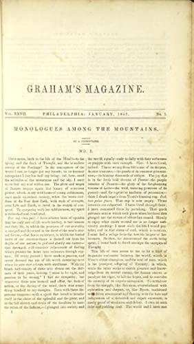 Graham's American monthly magazine of literature and: Lowell, James Russell