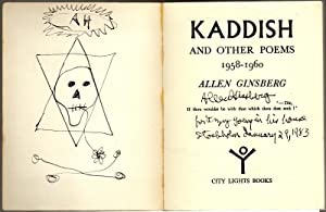 Kaddish and other poems 1958-1960: Ginsberg, Allen