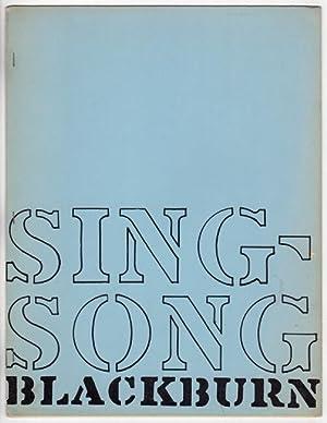 Sing-song. Caterpillar IV: Blackburn, Paul