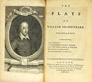 The plays of William Shakespeare, in eight: Shakespeare, William
