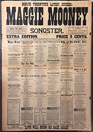Maggie Mooney songster.Extra edition: Thornton, James.]
