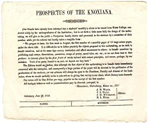 Prospectus of the Knoxiana