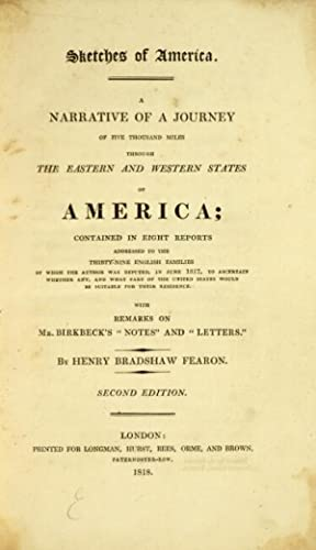 A narrative of a journey of five thousand miles through the eastern and western states of America; ...