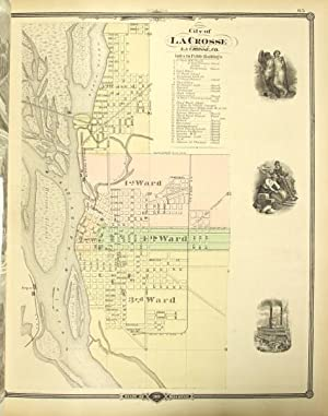 Historical atlas of Wisconsin embracing complete state and county maps city and village plats, ...