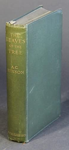 The leaves of the tree: studies in biography