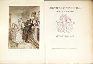 The vicar of Wakefield . Illustrated by Arthur Rackham