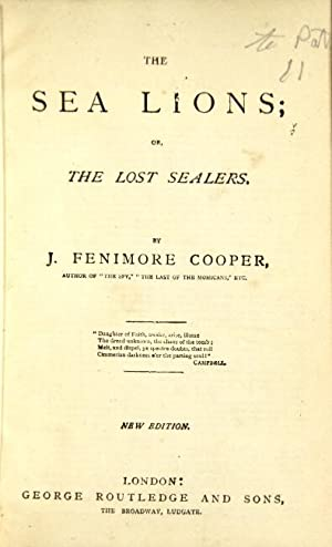 Ten titles in 2 volumes, as below: Cooper, James Fenimore