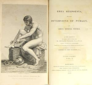 Title in Greek]: or, the diversions of Purley . A new edition, revised and corrected by Richard ...