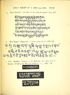 Elements of south Indian palaeography from the fourth to the seventh century a.d. being an ...