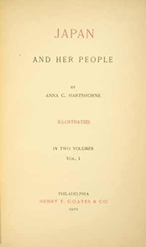 Japan and her people: HARTSHORNE, ANNA C.