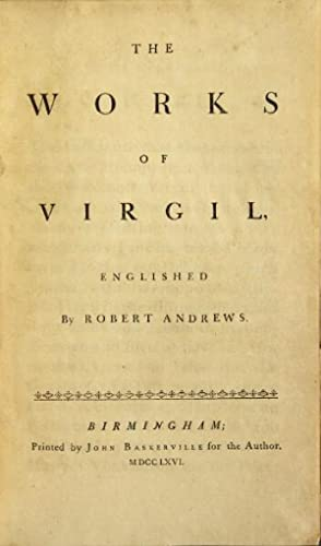 The works of Virgil. Englished by Robert: Vergilius Maro, Publius