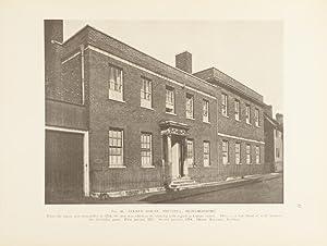The smaller English house of the later Renaissance 1660-1830: Richardson, A.E.; H. Donaldson ...