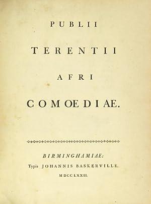 Publii Terentii Afri. Comoediae: Terentius Afer, Publius