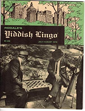 Rodale's Yiddish lingo. Volume I, no. 1: Rodale, J. I.,