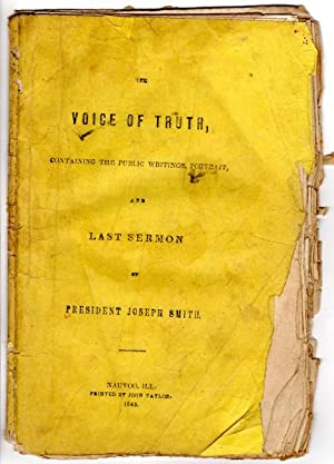 The voice of truth, containing General Joseph: Smith, Joseph