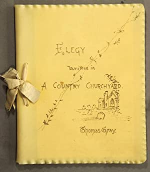Elegy written in a country churchyard. With illustrations by Birket Foster, W. L. Sheppard, W. L. ...