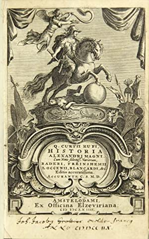 Q. Curtii Rufi Historia Alexandri Magni. Cum: Rufus, Q. Curtius
