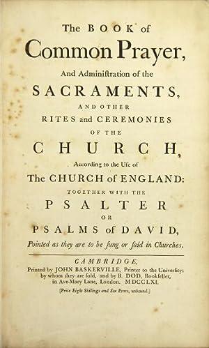 Common Prayer Administration Sacraments Other Rites Ceremonies