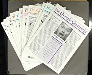 The Quayle Quarterly. Volume I, No. 1 to Volume 3, no. 4. A complete run in 12 issues: Yoder, ...