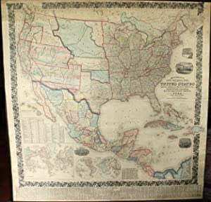 Mitchell's new national map, exhibiting the United States, with the North American British Provin...