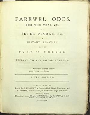 The works of Peter Pindar.]: Wolcot, John.]
