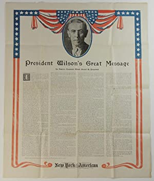 President Wilson's great message