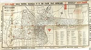 Map of Shanghai. Compliments of Navy Y.M.C.A. Shanghai, China