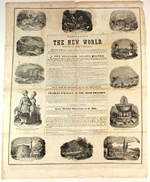 Prospectus of The New World. Edited by Park Benjamin. The New World is a journal of popular liter...