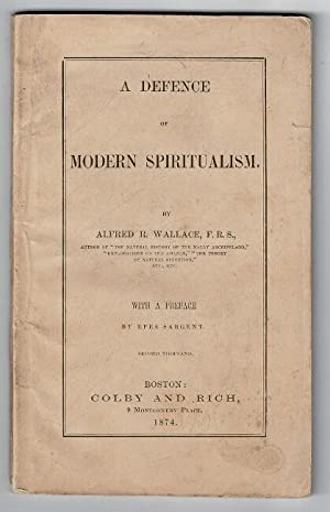 A defence of modern spiritualism . with a preface by Epes Sargent