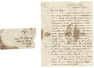3-page manuscript from J. W. Eckles of Houston, Texas to Major J. R. Lofland concerning a suit ag...