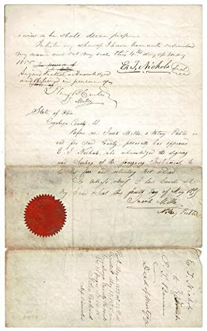 Deed of Mortgage from Edward T. Nichols