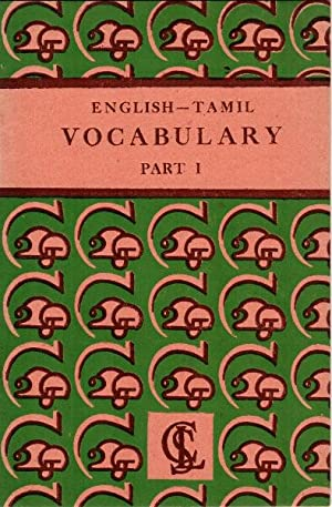 English and Tamil vocabulary. Part I-[III]