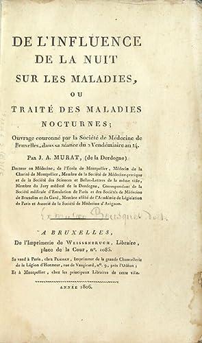 De l'influence de la nuit sur les maladies, ou traité des maladies nocturnes: ouvrage ...