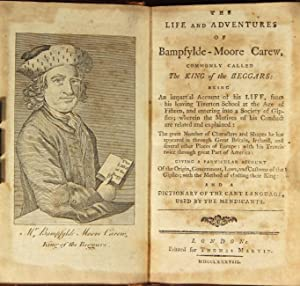 The life and adventures of Bampfylde-Moore Carew, commonly call the king of the beggars: being an...