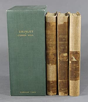 Shirley. A Tale. By Currer Bell. Author: Bronte, Charlotte