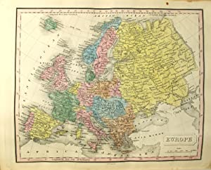 A new general atlas, exhibiting the five great divisions of the globe.with their several empires....