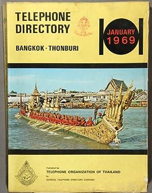 Telephone directory Bangkok-Thonburi, January 1969
