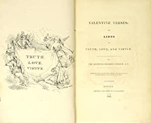 Valentine verses; or, lines of truth, love, and virtue: COBBOLD, RICHARD, Rev.]