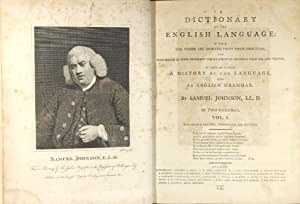 A dictionary of the English language: in which the words are deduced from their originals, and ...