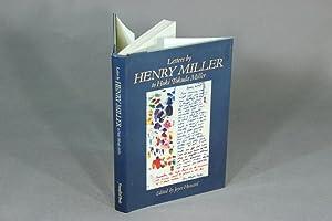 Letters from Henry Miller to Hoki Tokuda Miller. Edited by Joyce Howard: MILLER, HENRY