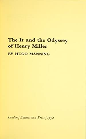 The it and the odyssey of Henry Miller: MANNING, HUGO