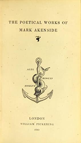 The poetical works: AKENSIDE, MARK