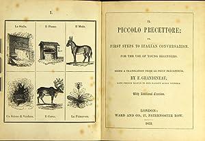 Il piccolo precettore; or, first steps to: GRANDINEAU, F.