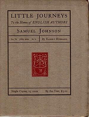 Little journeys to the homes of English: Hubbard, Elbert.]