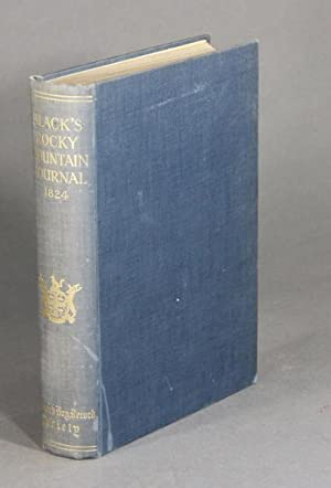 A journal of a voyage from Rocky Mountain portage in Peace River to the sources of Finlays Branch ...