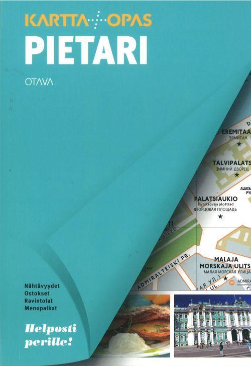 Pietari Kartta Opas Sankt Peterburg Karta I Putevoditel Na