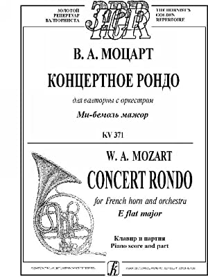 Concert Rondo for French horn and orchestra: Mozart Wolfgang Amadeus
