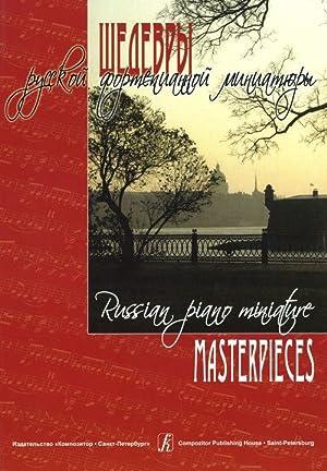 Russian Piano Miniature Masterpieces: GetalovaOlga (ed.)